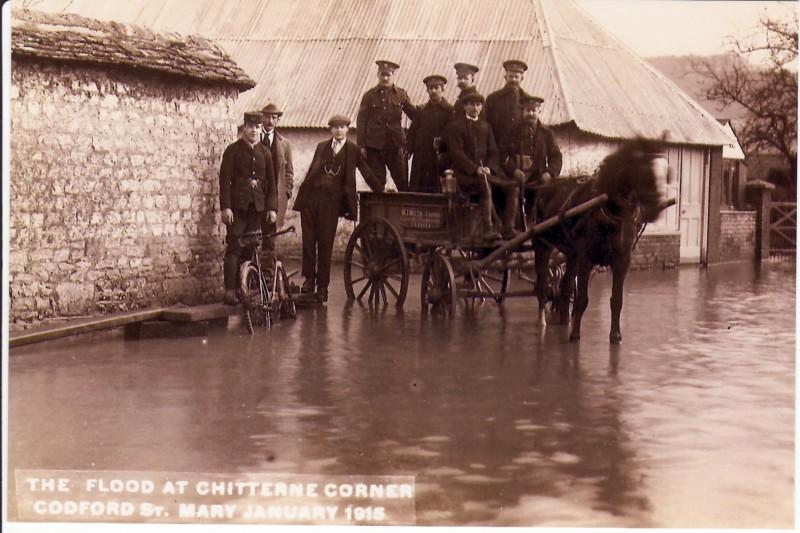 January 1915 Flooding Chitterne Rd
