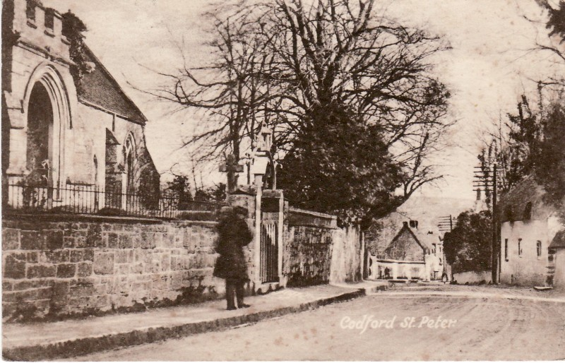 Outside St Peter's Church